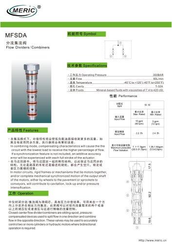 Cartridge valve MFSDA series