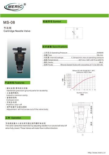 Stop valve MS-08