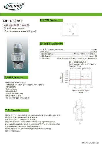 Volumetric flow regulator MBH-6T series