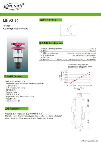 Volumetric flow regulator MNV2-10