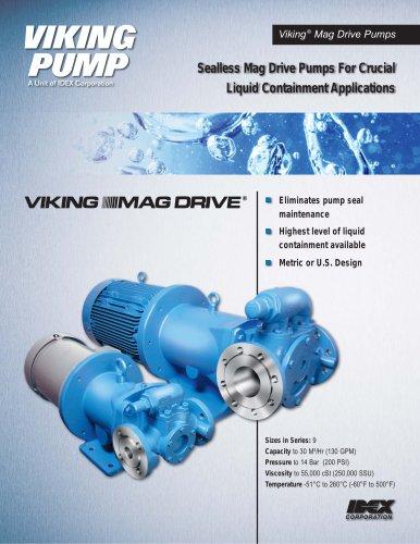 855 Mag Drive Pumps