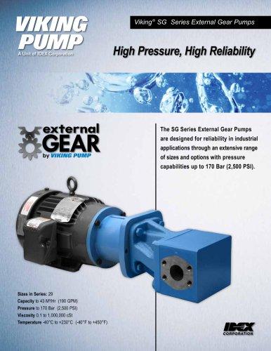 SG External Gear Pumps