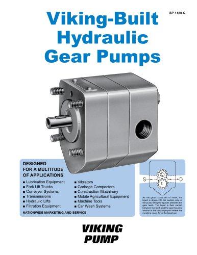Viking-Built Hydraulic Gear Pumps