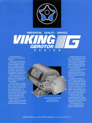 Viking pump - Form380_Rev A - Gerotor Brochure