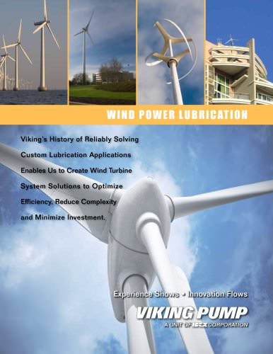 Viking Pump - Form391_rev A - Wind Power Lubrication