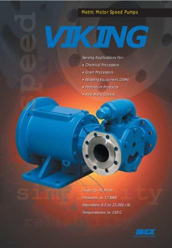 Viking Pump - Form770_rev B - Motor Speed Brochure