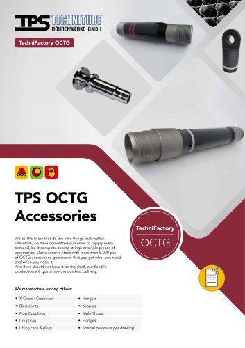 TPS OCTG Accessories