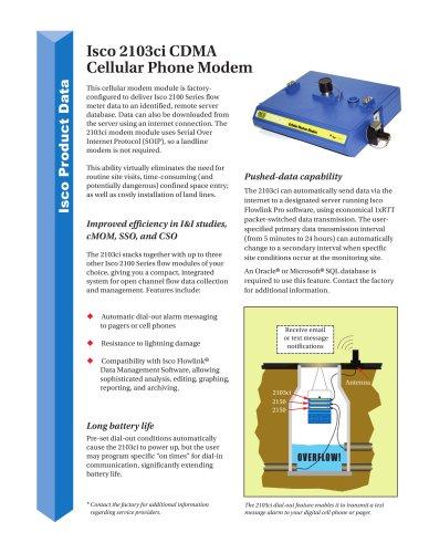 2103ci Cell Phone Modem CDMA