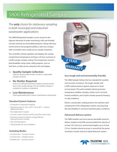 5800 Refrigerated Sampler