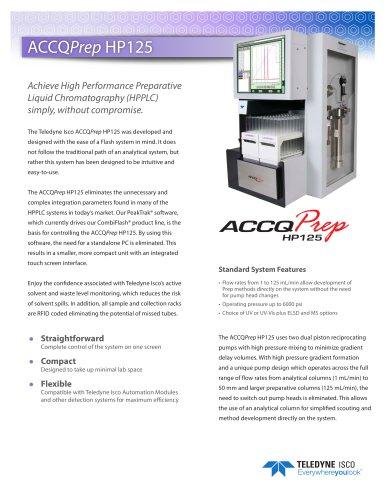 ACCQPrep® HP125