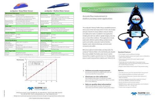 accQpulse™ Velocity Profiler