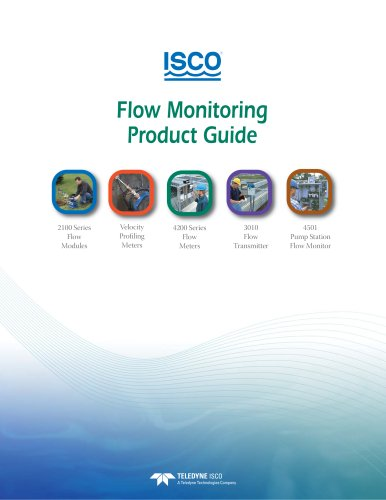 Flow Monitoring Product Guide