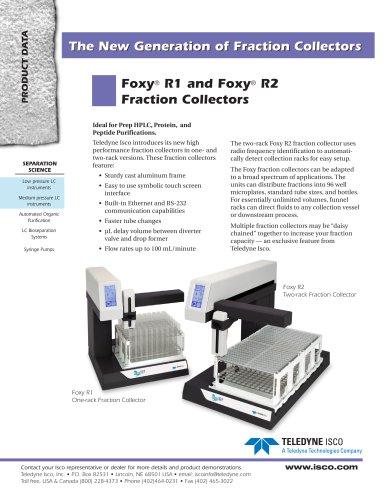 Foxy ® R1, Foxy ® R2