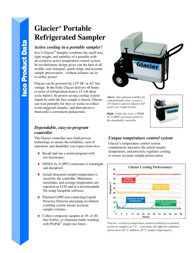 Glacier  Portable  Refrigerated Sampler