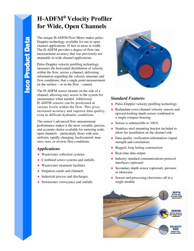 H-ADFM Horizontal Velocity Profiler
