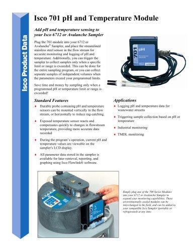 Isco 701 pH and Temperature Module