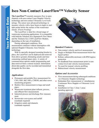 LaserFlow AV Sensor