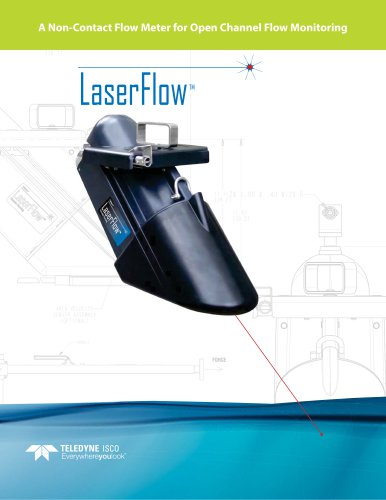 LaserFlow : A Non-Contact Flow Meter for Open Channel Flow Monitoring