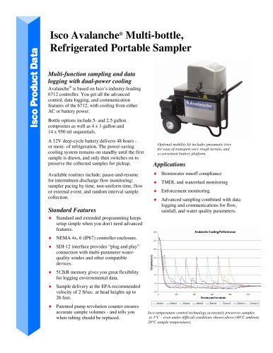 Portable Refrigerated Avalanche Sampler