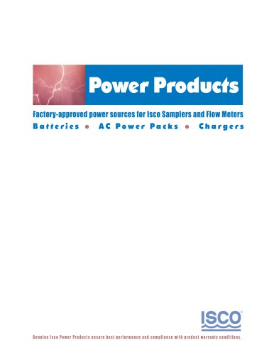 Power Products Brochure
