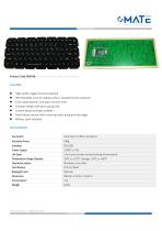 MATE MKB-88 Military Silicone Keyboard