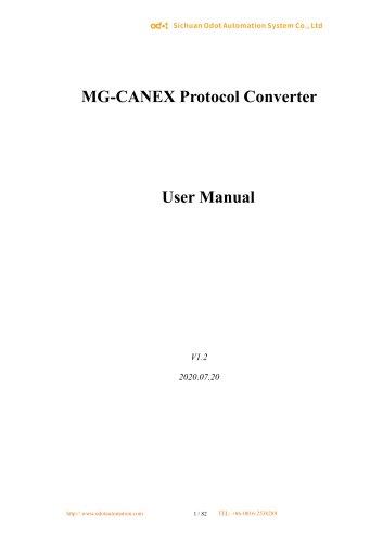 MG-CANEX User Manual 20200803_V1.2