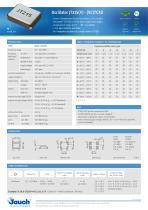 Oscillator JT21S(V) · (VC)TCXO