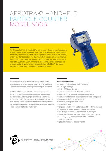 AeroTrak Handheld Particle Counter 9306