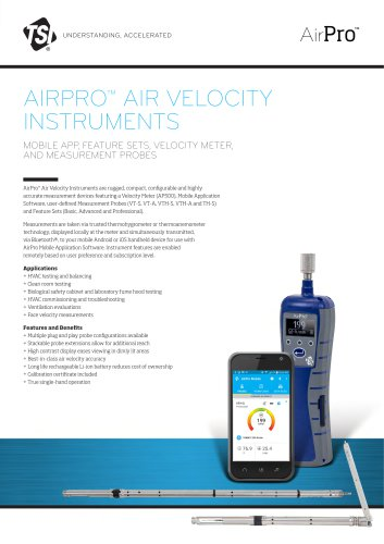 AirPro® AP500 Spec Sheet