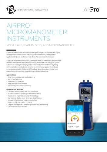 AirPro® AP800 Spec Sheet