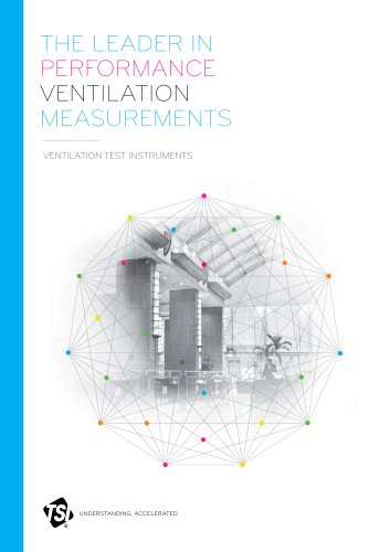 Ventilation Test Instruments Family Brochure