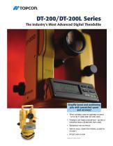 DT-200/200L Catalogue - 1