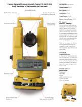 DT-200/200L Catalogue - 3