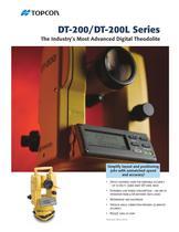DT-200 series  DIGITAL THEODOLITE - 1