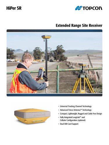 HiPer SR Extended Range Site Receiver