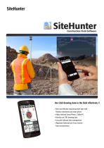 SiteHunter Catalogue - 1
