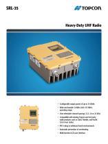 SRL-35 Heavy-Duty UHF Radio