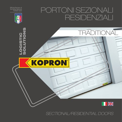 Sectional residential doors - Traditional