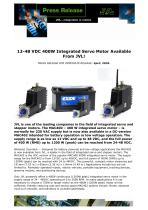 12-48 VDC 400W Integrated Servo Motor