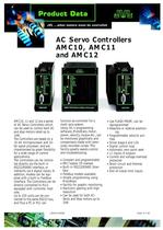 AC Servo Controllers AMC10, AMC11 and AMC12