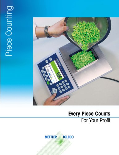 Brochure Piece Counting