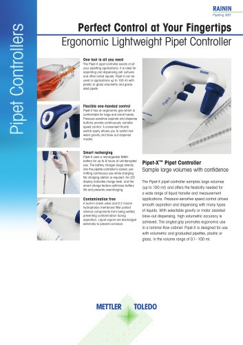 Pipet Controllers