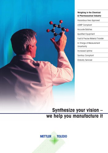Weighing in the Chemical and Pharmaceutical Industry