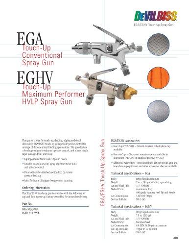 EGA/EGHV Touch-Up Spray Gun