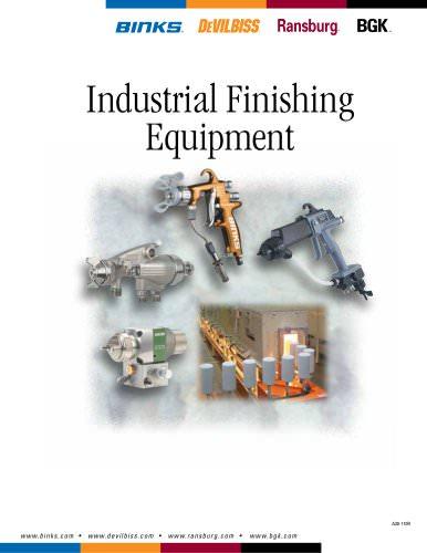 Industrial Finishing Equipment Catalog