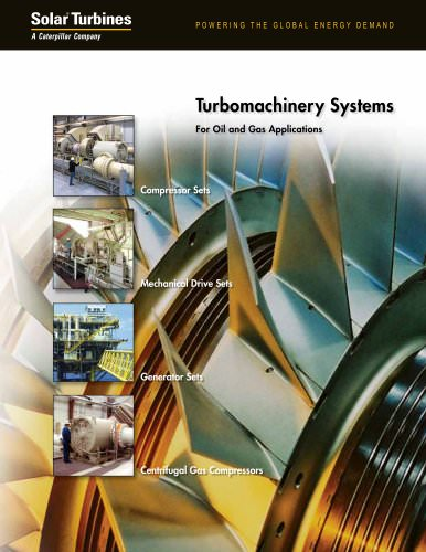 Turbomachinery Systems For Oil and Gas Applications