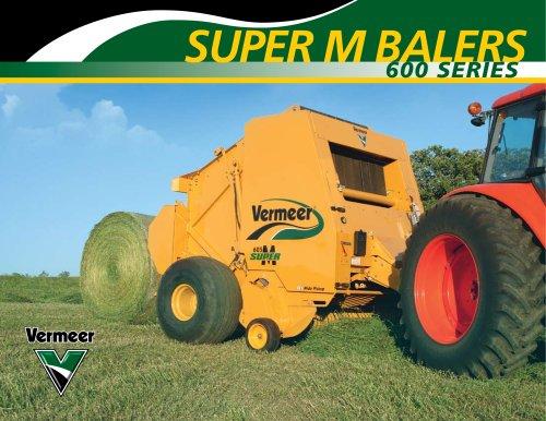 605 Super M Cornstalk Special Baler