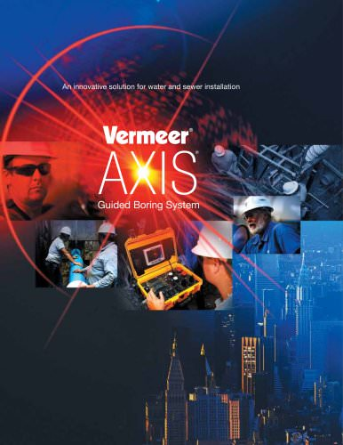 AXIS Guided Boring Systems Overview
