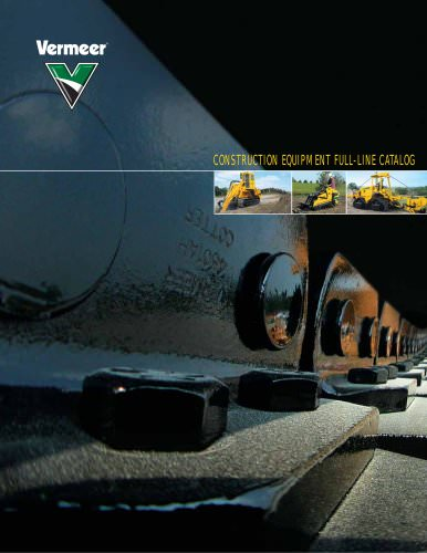 CONSTRUCTION EQUIPMENT FULL-LINE CATALOG