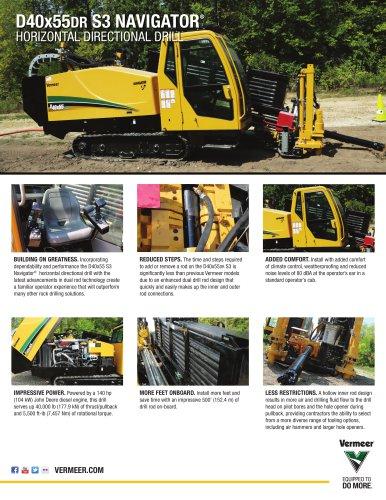 D40x55DR S3 NAVIGATOR®